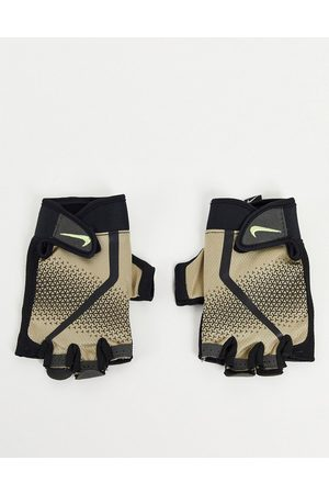 Nike Extreme mens fitness gloves in stone-Neutral