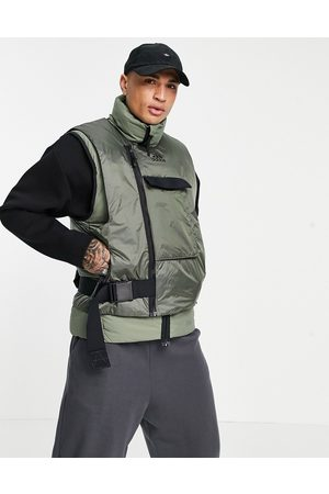 Adidas COLD RDY down vest jacket in green