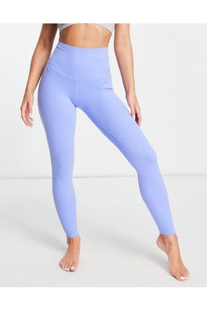 Nike Training Nike Yoga Luxe 7/8 leggings in blue