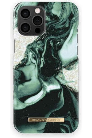 IDEAL OF SWEDEN Handy - Fashion Case iPhone 13 Pro Max Golden Olive Marble