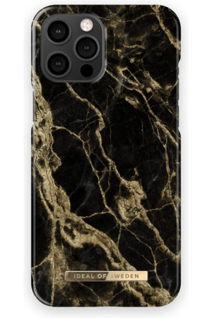 IDEAL OF SWEDEN Fashion Case iPhone 13 Pro Max Golden Smoke Marble