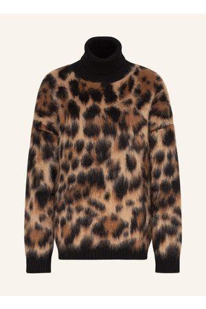 Dolce & Gabbana Damen Rollkragenpullover - Rollkragenpullover Mit Mohair weiss