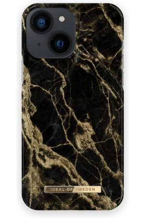 IDEAL OF SWEDEN Fashion Case iPhone 13 Mini Golden Smoke Marble