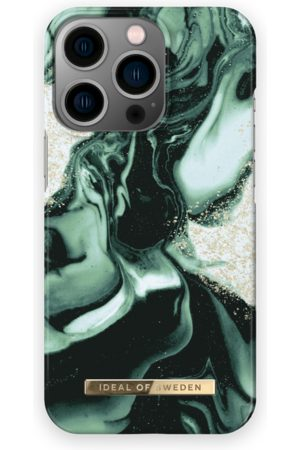 IDEAL OF SWEDEN Handy - Fashion Case iPhone 13 Pro Golden Olive Marble