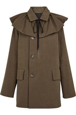 Tod's Damen Outdoorjacken - Mantel aus Canvas