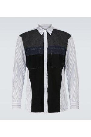 Comme des Garçons Herren Lange Ärmel - Hemd aus Baumwolle und Wolle