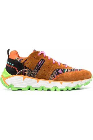 Etro Herren Sneakers - Patchwork chunky sneakers