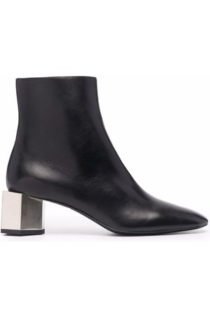 OFF-WHITE Block-heel ankle boots