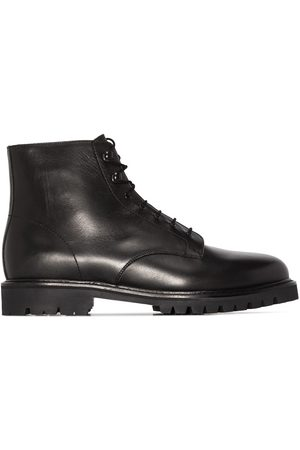 LEGRES Model 21 leather ankle boots
