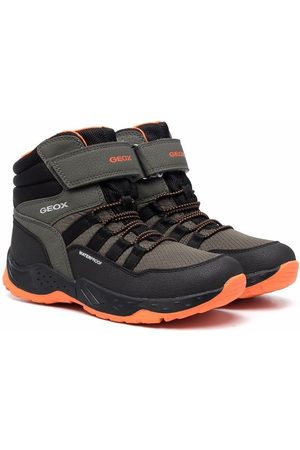 Geox Logo-print ankle-length hiking boots