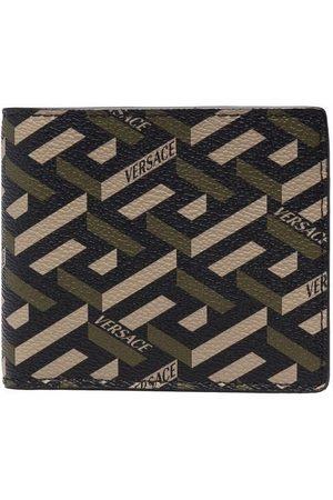VERSACE Herren Geldbörsen & Etuis - La Greca pattern wallet