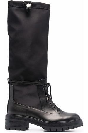 Aquazzura Damen Schnürstiefel - Lace-up detail boots
