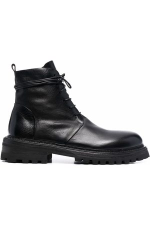 MARSÈLL Herren Stiefel - Leather lace-up boots