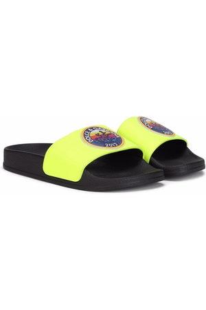 Dolce & Gabbana Jungen Halbschuhe - Logo stamp slippers