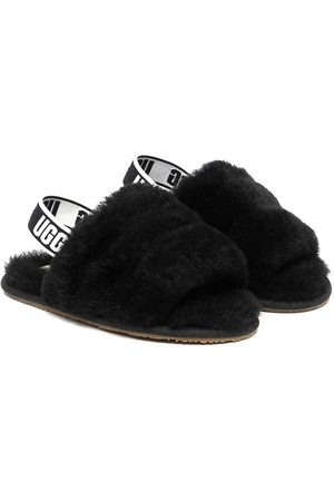 UGG Mädchen Halbschuhe - Faux fur slippers