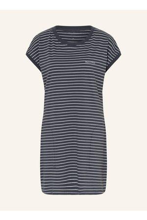 Marc O' Polo Damen Nachthemden - Nachthemd grau