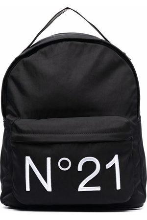 Nº21 Mädchen Rucksäcke - Logo-print zip-fastening backpack