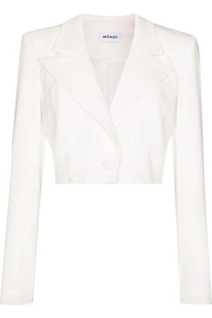 Mônot Damen Blazer & Sakkos - Cropped single-breasted blazer