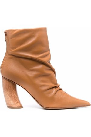 Angelo Figus Pointed toe ankle boots