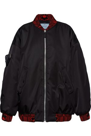 Prada Damen Sommerjacken - Re-Nylon bomber jacket