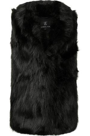 Unreal Fur Rose premium faux fur gilet