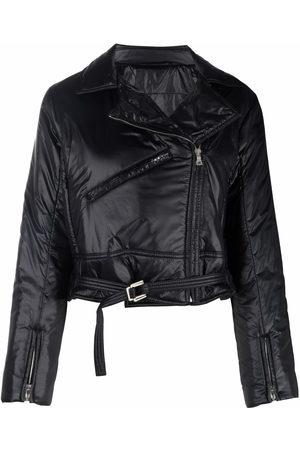 PORTS 1961 Damen Lederjacken - Padded biker jacket