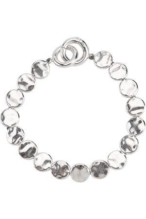Jil Sander Herren Armbänder - Hammered disc bracelet