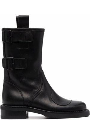 Buttero Damen Stiefeletten - Side-buckle ankle-length boots