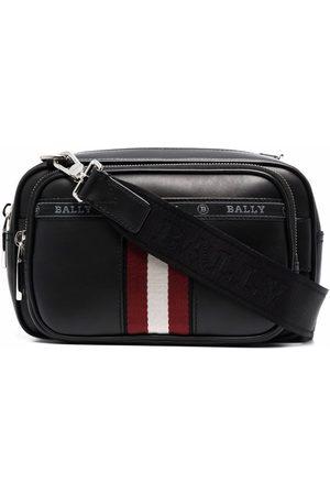 Bally Hal logo-tape shoulder bag
