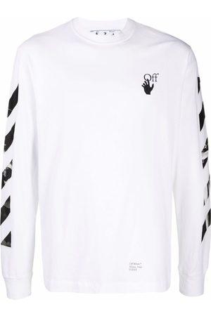 OFF-WHITE Herren Lange Ärmel - Caravaggio Arrows long-sleeve T-shirt