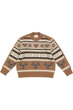 Burberry Jungen Pullover - Pullover aus Wolle und Kaschmir