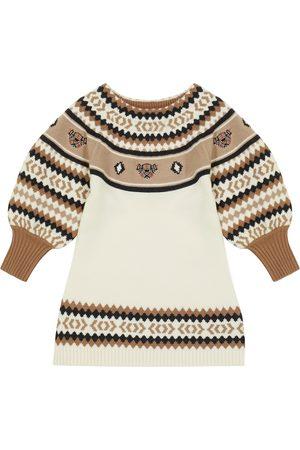 Burberry Kleid aus Wolle und Kaschmir