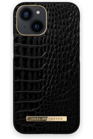 IDEAL OF SWEDEN Atelier Case iPhone 13 Mini Neo Noir Croco