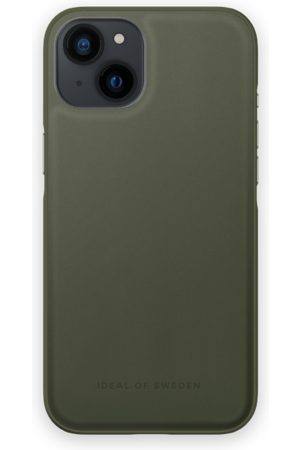 IDEAL OF SWEDEN Atelier Case iPhone 13 Intense Khaki