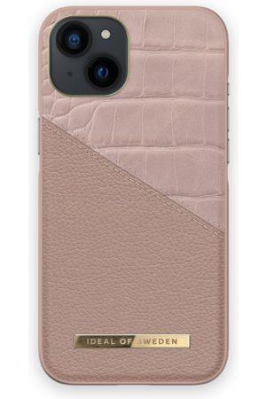 IDEAL OF SWEDEN Handy - Atelier Case iPhone 13 Rose Smoke Croco