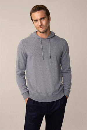 Windsor Herren Sweatshirts - Cashmere-Kapuzen-Pullover Cashmono in