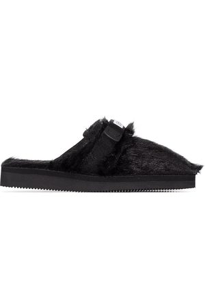 SUICOKE Zavo Zeu faux-fur slippers
