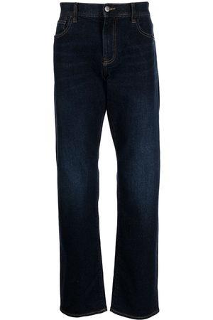 Armani Herren Straight - Logo patch straight-leg jeans