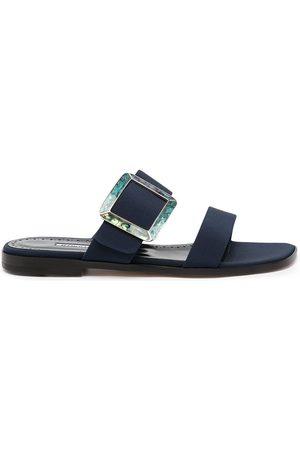 Manolo Blahnik Tituba buckled sandals