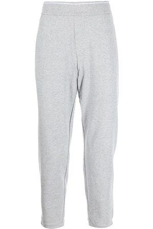 Armani Slim-fit cotton track pants