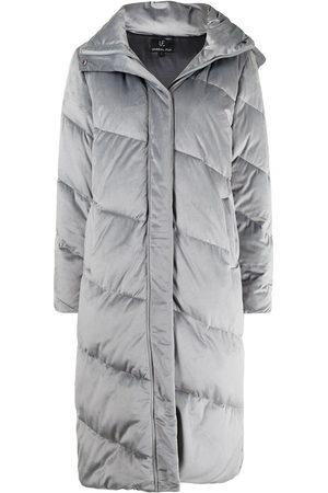 Unreal Fur Concrete Jungle midi coat
