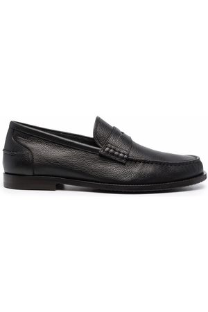 Bally Kebler pebbled leather loafers