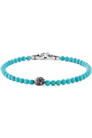 David Yurman Herren Armbänder - 4mm skull bead bracelet