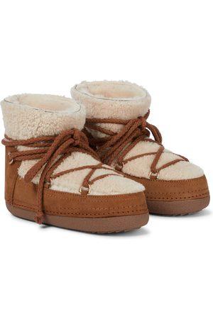 INUIKII Exklusiv bei Mytheresa – Ankle Boots Curly aus Shearling und Veloursleder