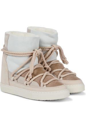 INUIKII Damen Stiefeletten - Ankle Boots aus Leder