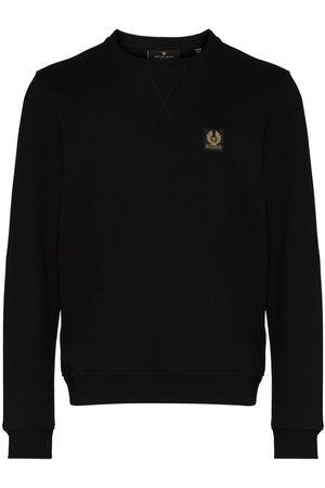 Belstaff Herren Sweatshirts - Logo-patch sweatshirt