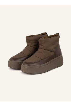 Ash Plateau-Boots Maxi gruen