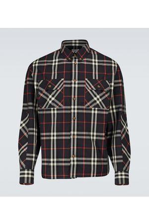 Burberry Herren Freizeit - Kariertes Hemd aus Baumwolle