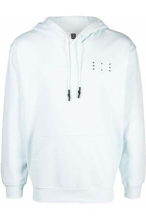 MCQ Stitch-detail pullover hoodie