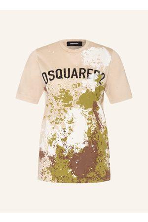 Dsquared2 Damen Shirts - T-Shirt grau